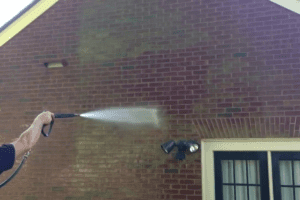 best time to power wash a house